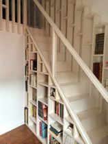 escalier menuiserie charpente charente maritime ile de re la rochelle. Black Bedroom Furniture Sets. Home Design Ideas